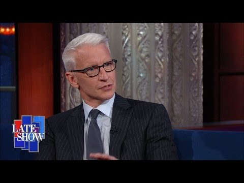 Anderson Cooper And Stephen Colbert Geek Out About Dungeons & Dragons!