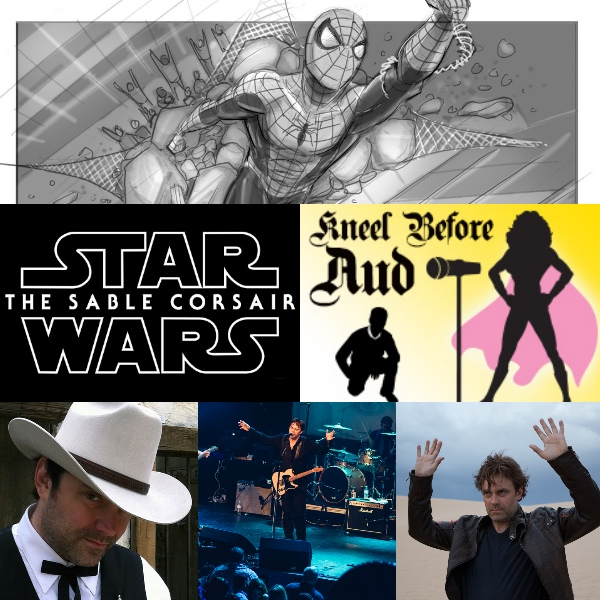 Ep 42 – JEFFREY HENDERSON Actor, Artist, Musician and Star Wars Fan Film Winner on Kneel Before Aud!
