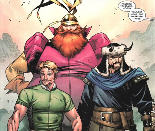 Warriors Three Possibly Coming to Thor: Ragnarok!