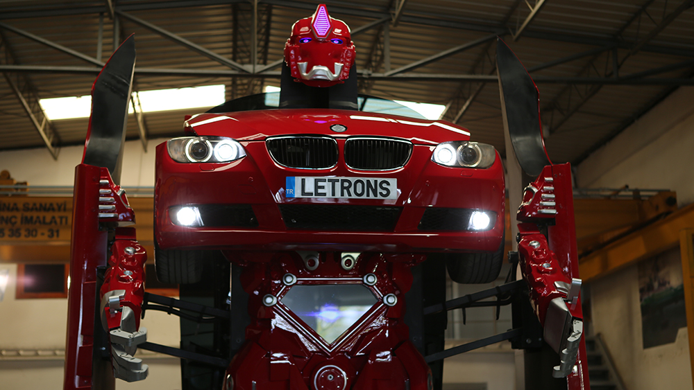 A Group of Turkish Engineers Created a Real-Life Transformer
