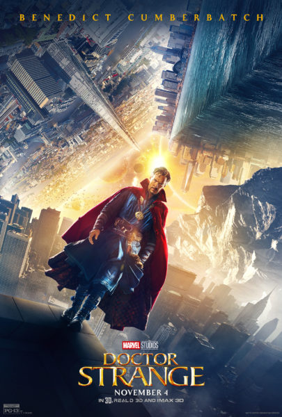 DESCRIPTION OF DOCTOR STRANGE FOOTAGE FROM LAST NIGHT'S VIP IMAX PREVIEW!