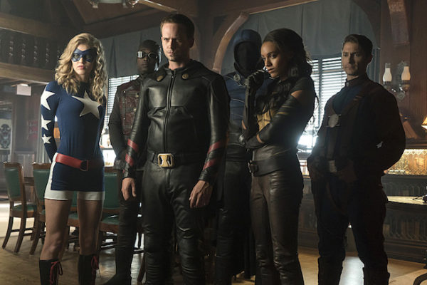 Plot Synopsis and First Photograph for Justice Society of America on Legends of Tomorrow!