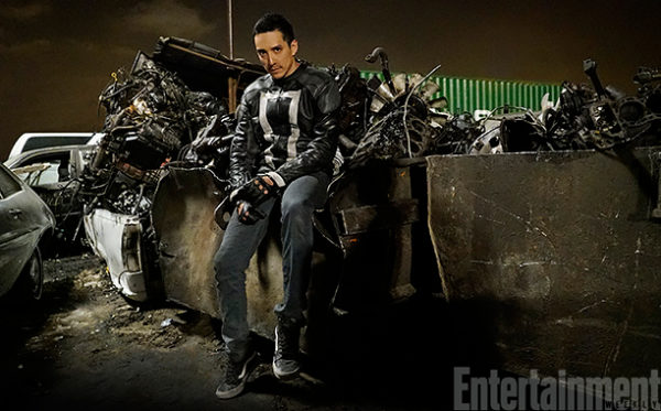 GHOST RIDER SPEAKS IN THIS SNEAK PEEK AT AGENTS OF SHIELD!