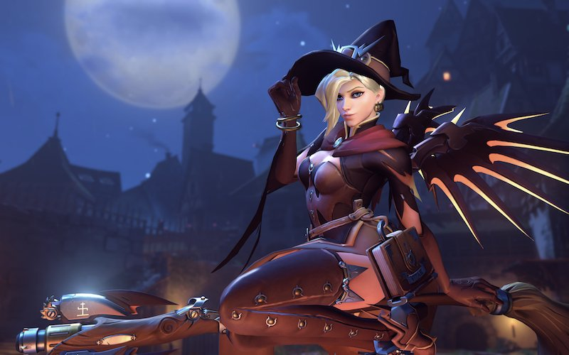 Halloween Invades Overwatch with New Skins, Emotes, Victory Poses, Voice Lines and More