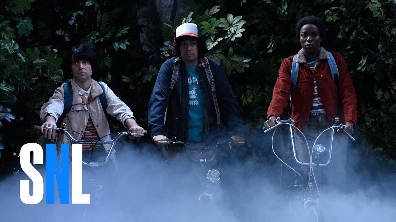 SNL Gives Us a 'Sneak Peak' at 'Stranger Things' Season 2
