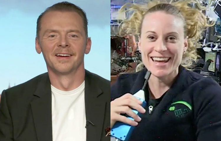 Simon Pegg Talks to NASA Astronaut Kate Rubin!