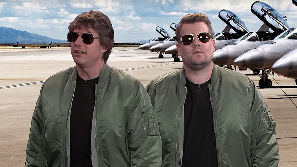 The Late Late Show With James Corden Celebrates Tom Cruise's Career With Tom Cruise!