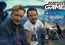 Conan And Elijah Wood Play The New Final Fantasy