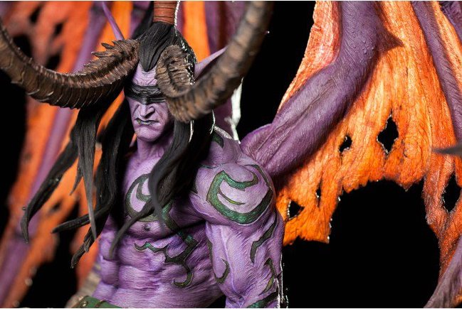 BLIZZCON: You Can Now Take Home Illidan Stormrage.. in Statue Form, of Course