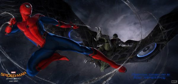 Is This Our First Solid Look at The Vulture in Spider-Man: Homecoming?