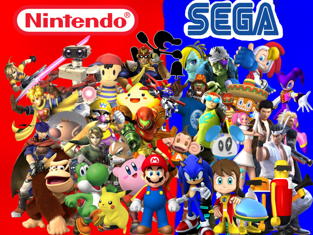 Retro Gaming Rumble: Nintendo vs Sega