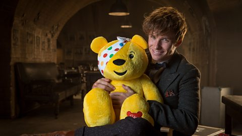Have a Giggle With Eddie Redmayne and The Doctor for BBC Children in Need Charity