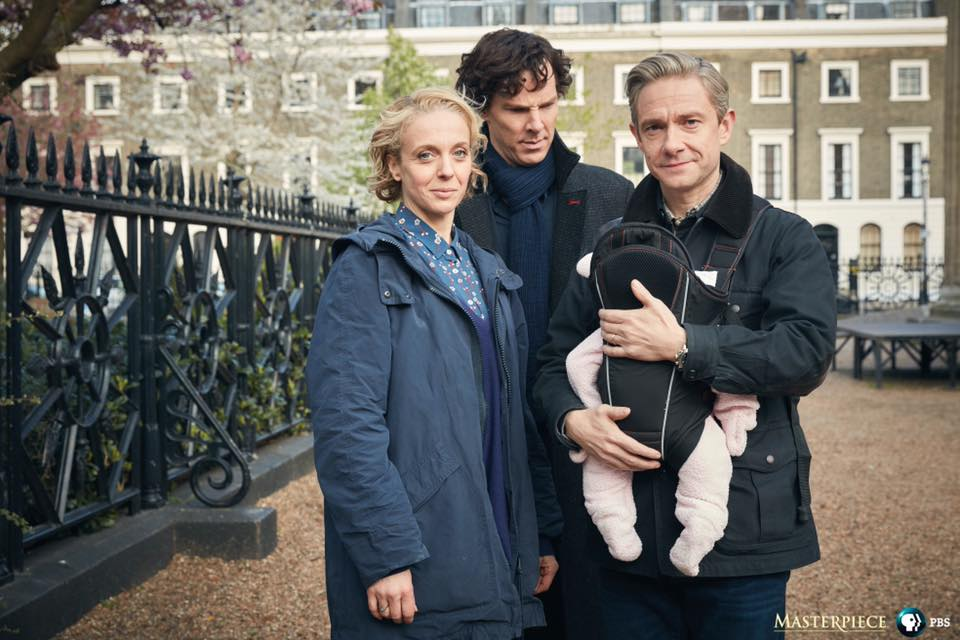 Uncle Sherlock? New Photos of Our Favorite Detective