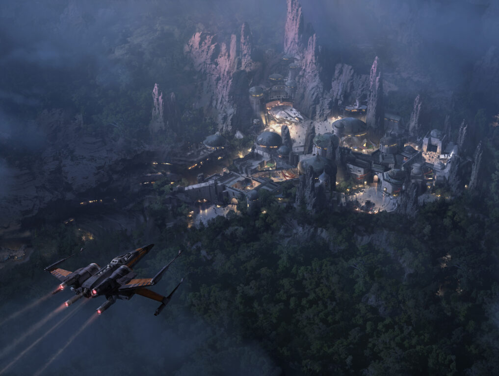 Disney's STAR WARS LAND 14-Acre Expansion Is Largest in Park's History!
