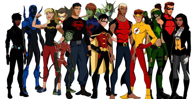 YOUNG JUSTICE Lives Again!