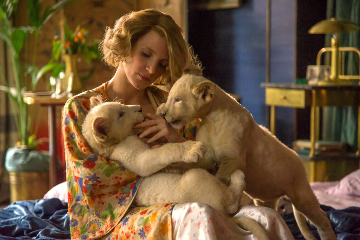 Check Out the Trailer for Jessica Chastain's Latest Movie, THE ZOOKEEPER'S WIFE