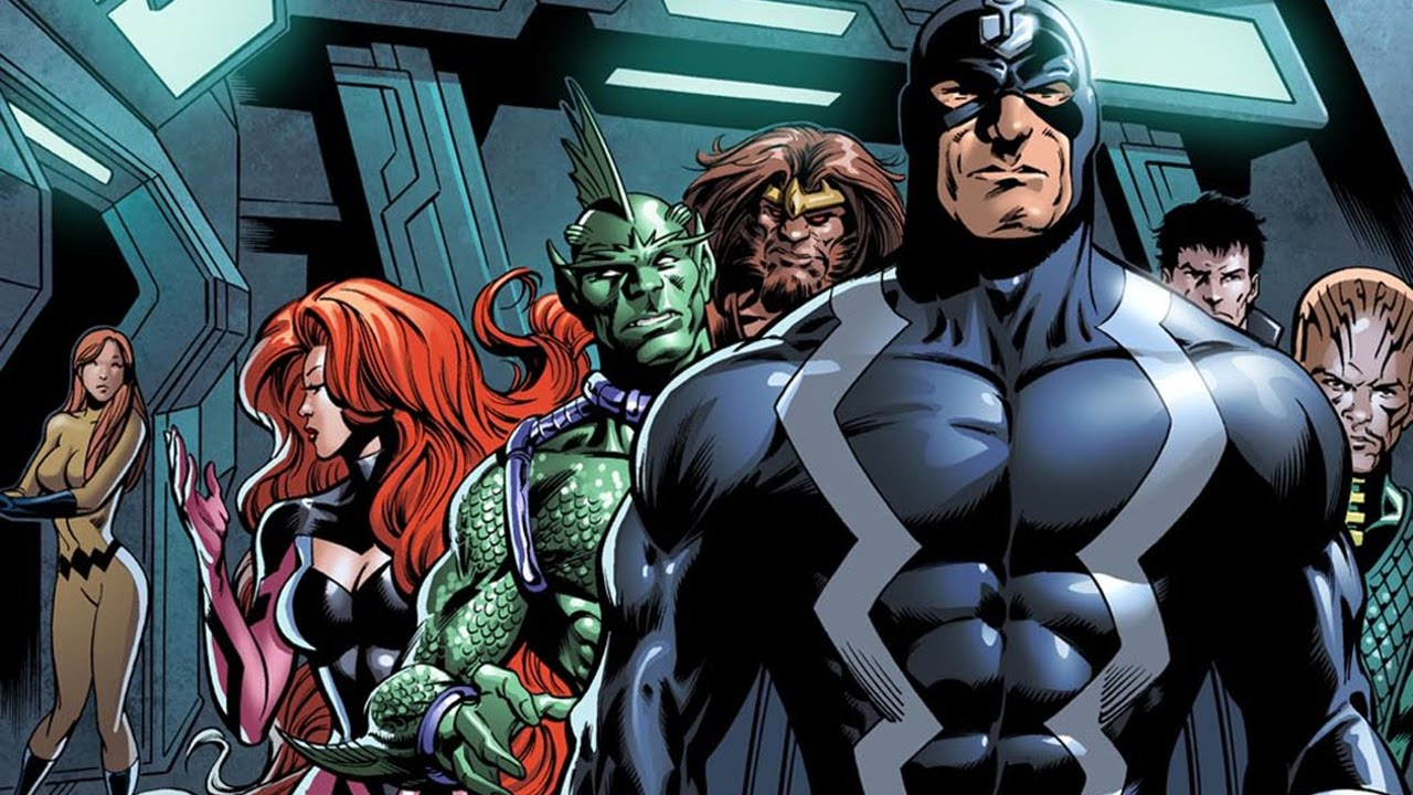 First Pics from Set of INHUMANS Show Us Black Bolt and Lockjaw