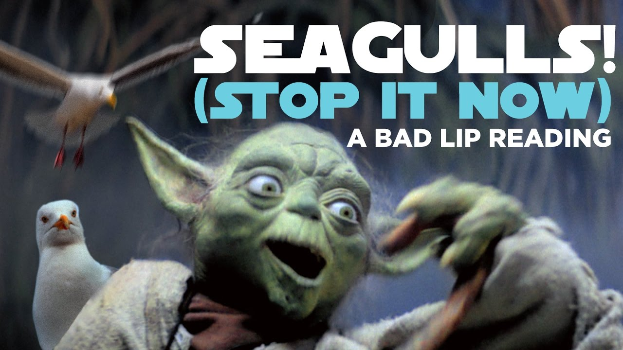Yoda SINGS in Bad Lip Reading's 'SEAGULLS! (Stop it Now)'