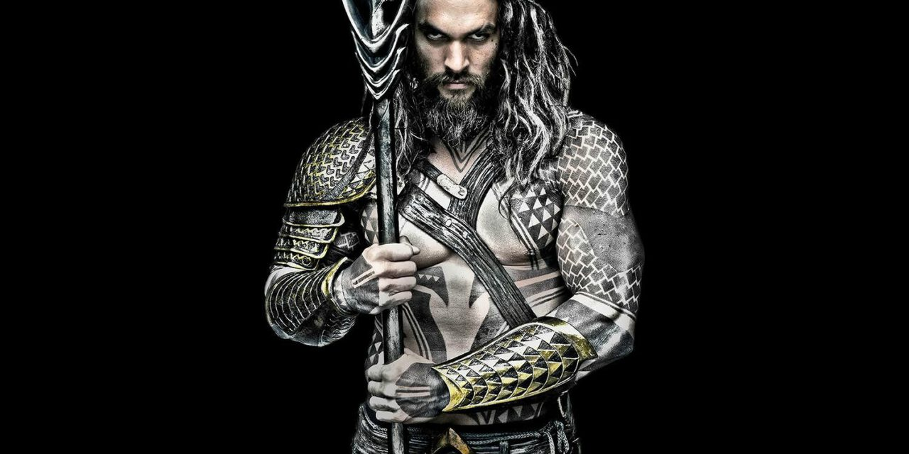 See the New Look of Jason Momoa as AQUAMAN in JUSTICE LEAGUE