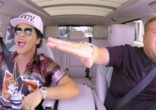 Madonna AND Bruno Mars Entertain In CARPOOL KARAOKE