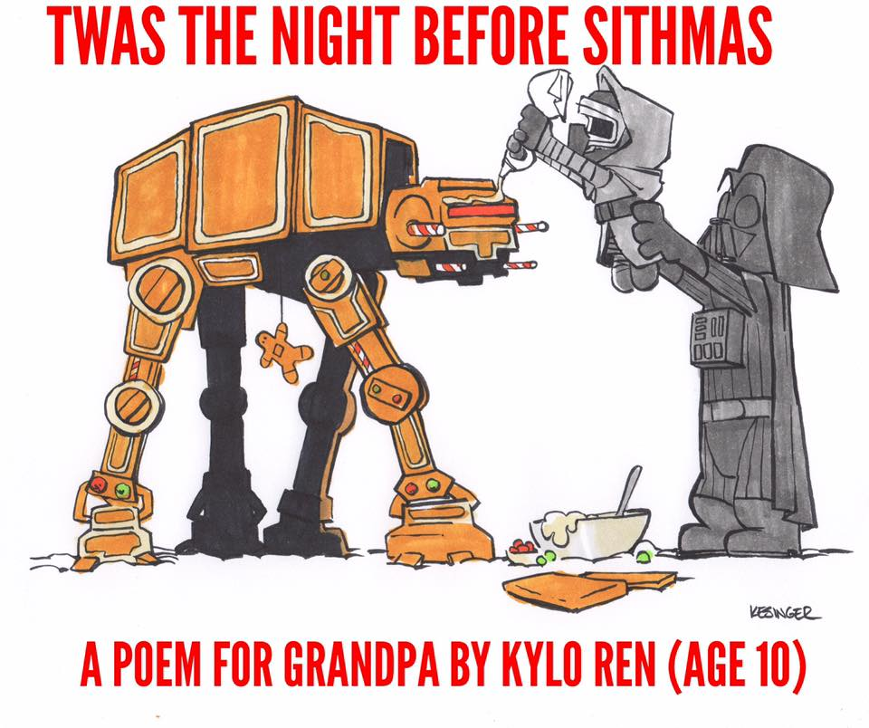 Brian Kesinger Presents TWAS THE NIGHT BEFORE SITHMAS