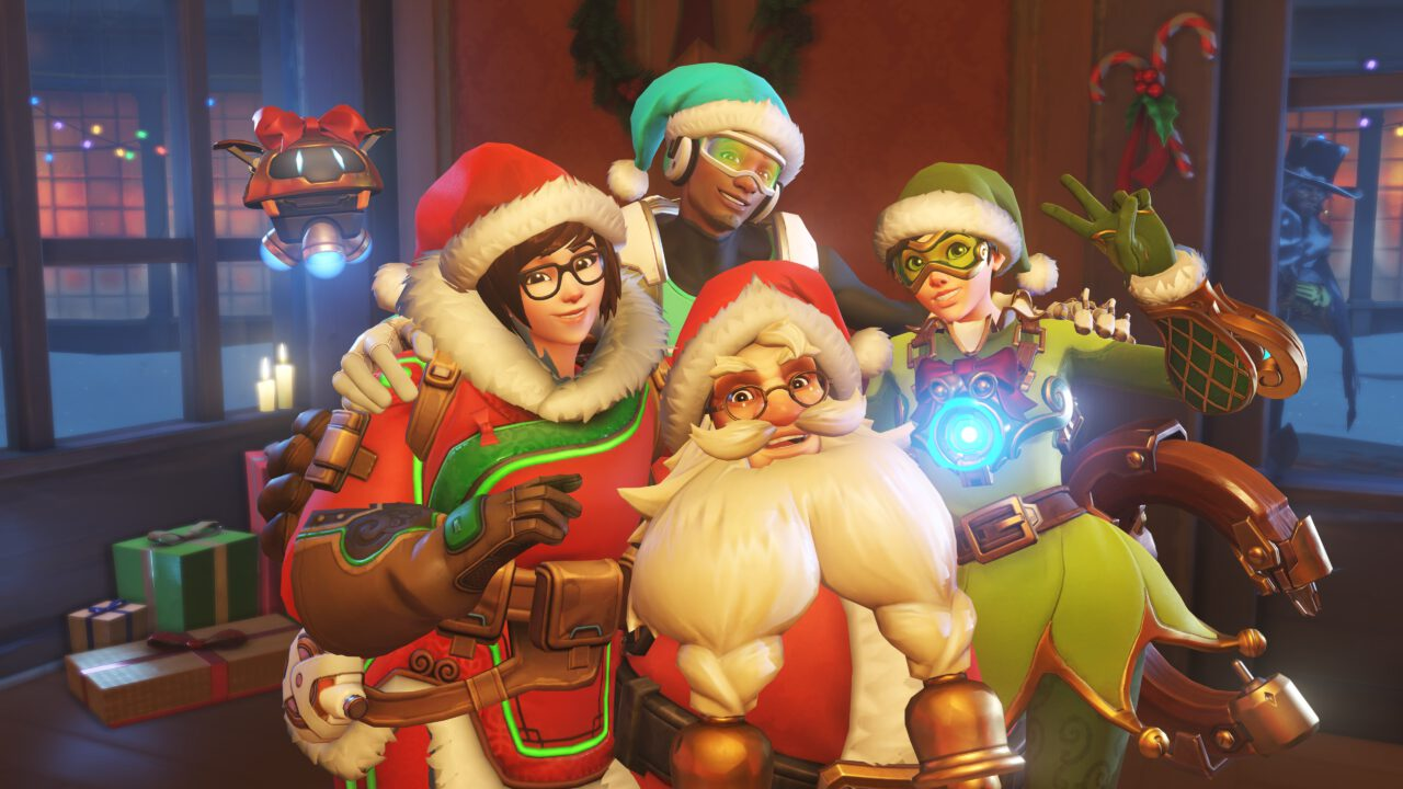 Celebrate Winter with OVERWATCH Winter Wonderland Avatars