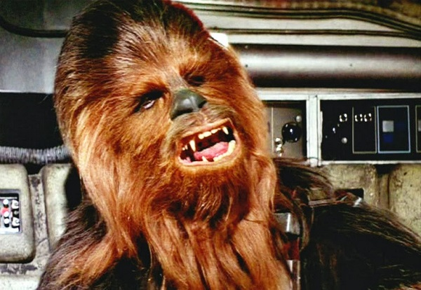 Chewbacca singing Silent Night is ADORABLE