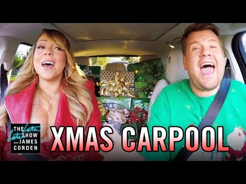 The Who's Who of Carpool Karaoke Sing 'All I Want For Christmas is You'