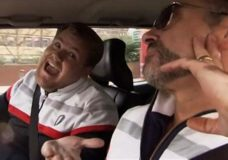 James Corden's First Ever Carpool Karaoke With Special Guest, George Michael