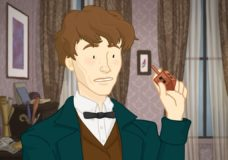 Hanukkah is a Mystery to Newt Scamander in FANTASTIC HOLIDAYS AND HOW TO EXPLAIN THEM