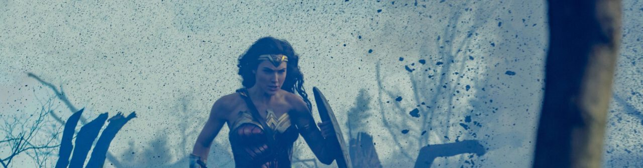 New Picture Sees WONDER WOMAN Running Through a WWI Battlefield