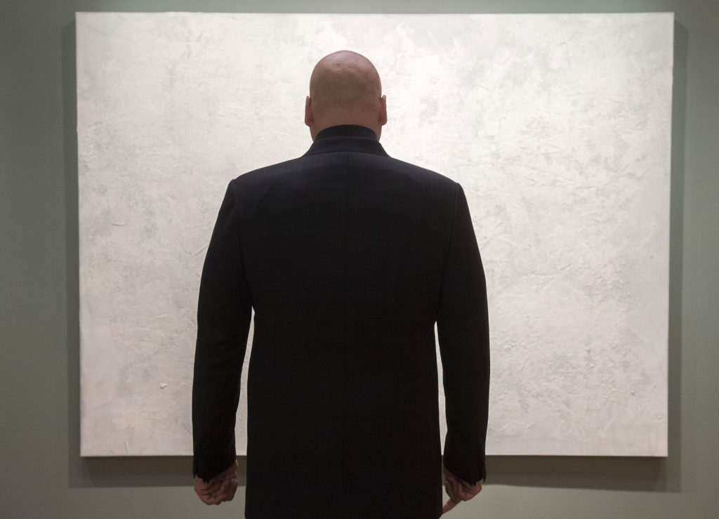 """VINCENT D'ONOFRIO as WILSON FISK in the Netflix Original Series """"Marvel's Daredevil"""" Photo: Barry Wetcher © 2014 Netflix, Inc. All rights reserved."""