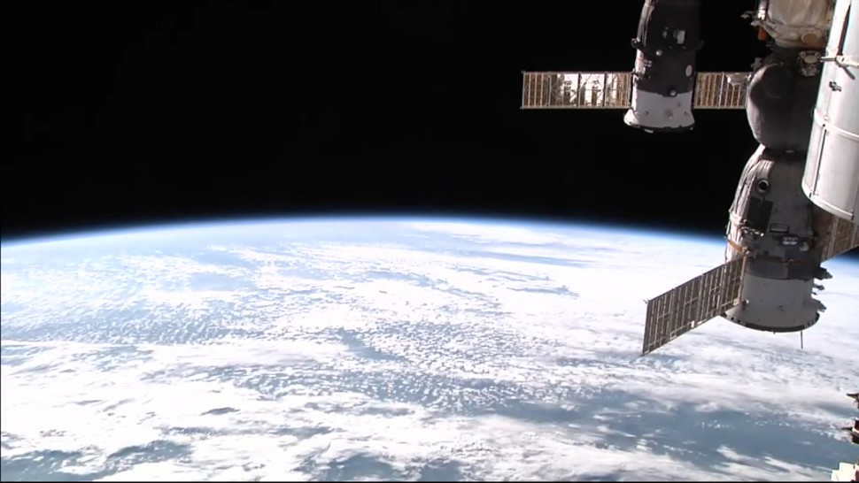 Watch This Calming Live Stream From The International Space Station