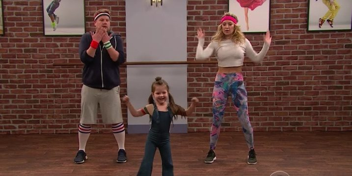 Toddleragraphy With James Corden And Kate Hudson!