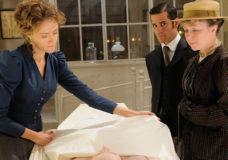 Helene Joy and Yannick Bisson in Murdoch Mysteries