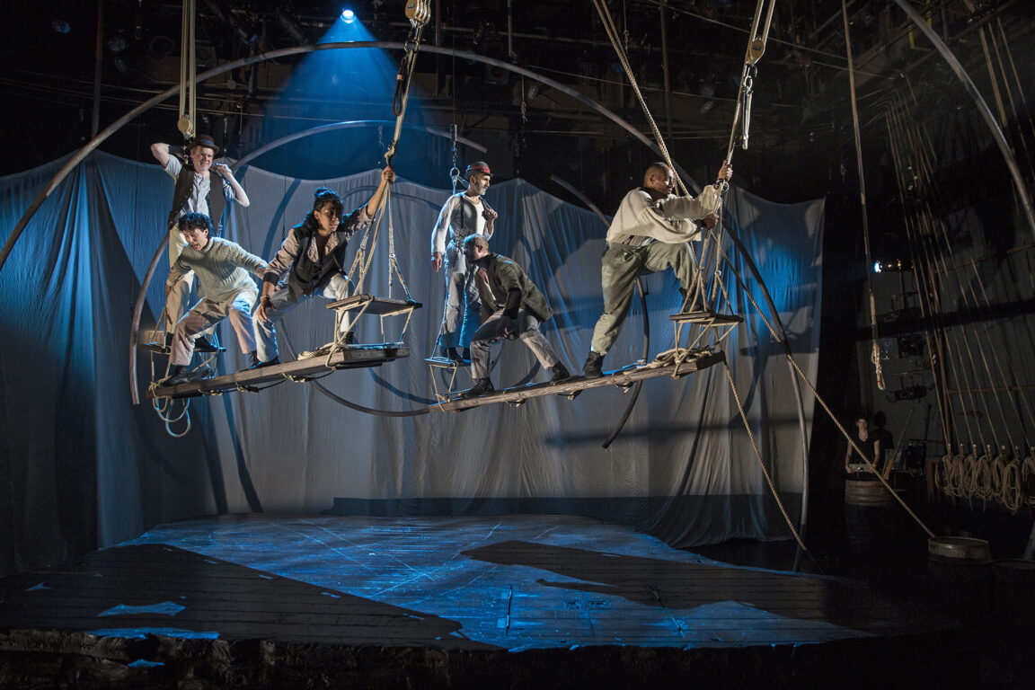 "Lookingglass Theatre's ""Moby Dick"" Drops Anchor at South Coast Repertory"
