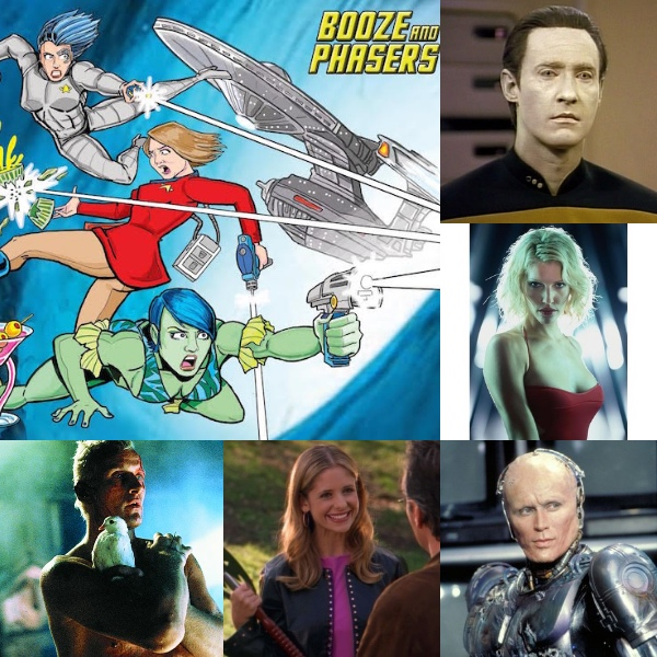 Ep 26 – Live at Emerald City Comic Con! Best Androids and A.I.'s with Guests Nikki Griffin and Kaj Eriksen