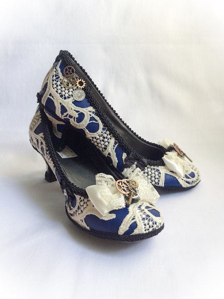Steampunk Who Shoes