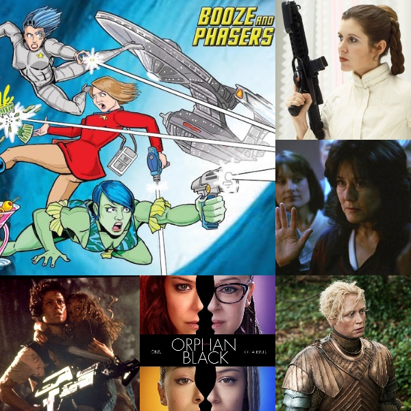 Ep 27 – Fave Female Genre Characters with Guest Jenny Flack