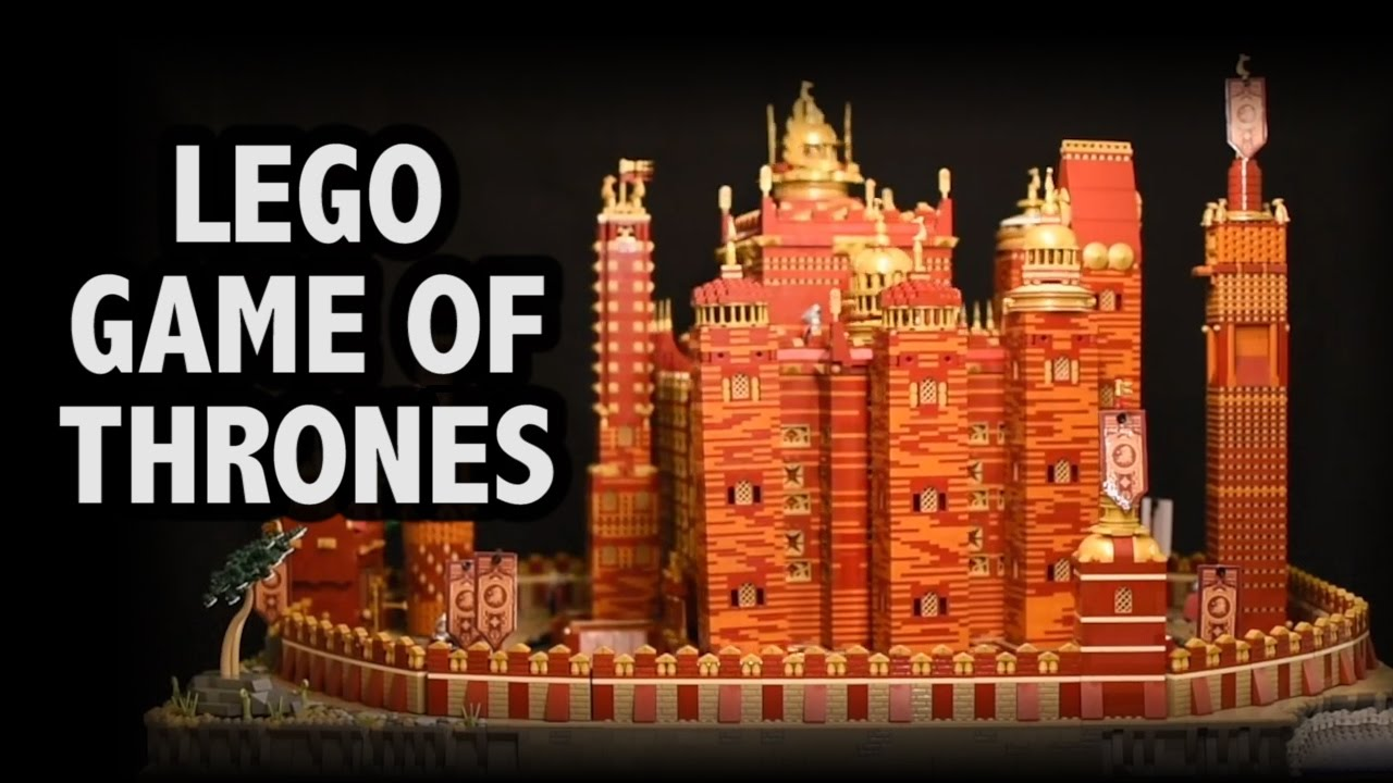 Motorized LEGO Red Keep is Straight Out of GAME OF THRONES Opening Credits