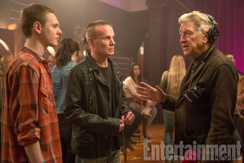 Here Are Your First Official Set Photos From TWIN PEAKS