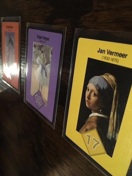3 Board Games For Art Loving Nerds