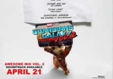 Playlist for GUARDIANS OF THE GALAXY VOL. 2 Has Been Released!