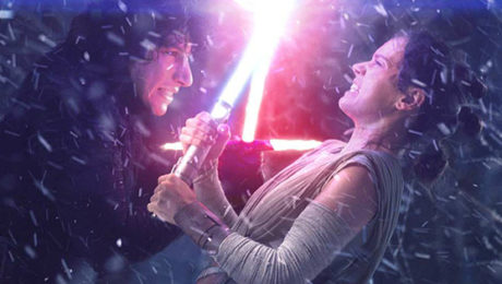 Our First Look at Rey and Kylo Ren's New Outfits From STAR WARS THE LAST JEDI