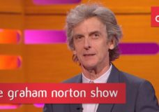 Peter Capaldi Talks Leaving DOCTOR WHO on THE GRAHAM NORTON SHOW