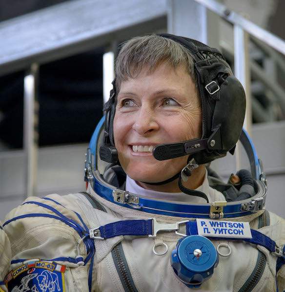 First Woman to Command Space Station Takes Command For the Second Time