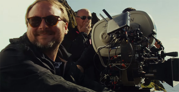Rian Johnson Shares Beautiful Behind the Scenes Photos from STAR WARS: THE LAST JEDI at SWCO