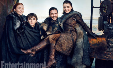 EW Reunites the Starks in GAME OF THRONES Photo Shoot