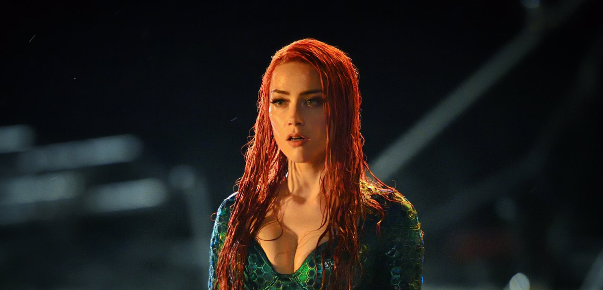 Our First Look at Amber Heard as Mera from AQUAMAN
