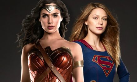 The Women of Supergirl Get Together for Some Awesome WONDER WOMAN Cross Promotion
